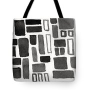 Abstract Open Windows Tote Bag by Linda Woods