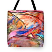 Abstract - Paper - Origami Tote Bag by Mike Savad