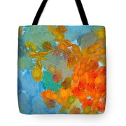 Abstract Summer #2 Tote Bag by Pixel Chimp