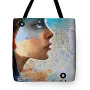 Abstract Tarot Art 019 Tote Bag by Corporate Art Task Force