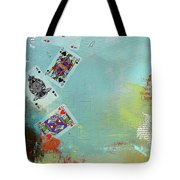Abstract Tarot Card 009 Tote Bag by Corporate Art Task Force