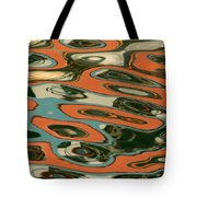 Abstract Water Reflection 5 Tote Bag by Andrew  Hewett