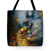 Abstract Woman 011 Tote Bag by Corporate Art Task Force
