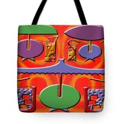 ABSTRACTION 177 Tote Bag by Patrick J Murphy