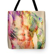 Abstractiv Body  Tote Bag by Mark Ashkenazi