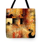 Abstracture - 103106046f Tote Bag by Variance Collections