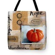 Abundance Tote Bag by Linda Woods
