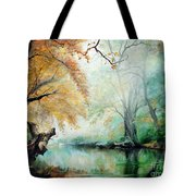 Abyss Tote Bag by Sorin Apostolescu