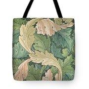 Acanthus Wallpaper Design Tote Bag by William Morris