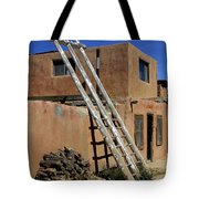 Acoma Pueblo Adobe Homes 3 Tote Bag by Mike McGlothlen