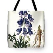 Aconitum Napellus Tote Bag by LFJ Hoquart