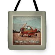 Adventure Air Tote Bag by Cindy Thornton
