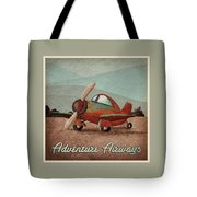 Adventure Air Tote Bag by Cindy Thornton