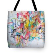 Advertisement Of Self 1 Tote Bag by David Baruch Wolk