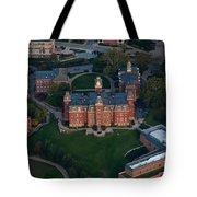 Aerial Of Woodburn Hall Tote Bag by Dan Friend