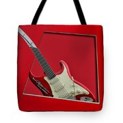 Aerosmith Rockn Roller Guitar Tote Bag by Thomas Woolworth
