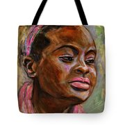 African American 3 Tote Bag by Xueling Zou