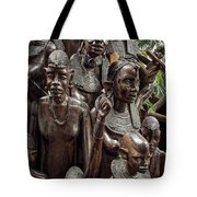 African Family Tree Of Life Tote Bag by Daniel Hagerman