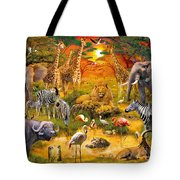 African Harmony Tote Bag by Jan Patrik Krasny