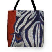 African Stripes Tote Bag by Tracy L Teeter