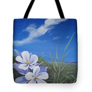 Afternoon High Tote Bag by Hunter Jay