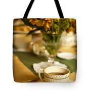 Afternoon Tea Time Tote Bag by Andrew Soundarajan