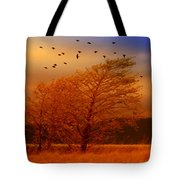 Against The Wind Tote Bag by Holly Kempe