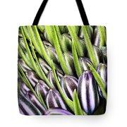 Agapanthus Buds Tote Bag by Joy Watson