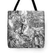 Agony In The Garden From The 'great Passion' Series Tote Bag by Albrecht Duerer