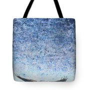 Ahead Of The Storm Tote Bag by James W Johnson
