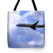 Air Force One - Mcdonnell Douglas - Dc-9 Tote Bag by Jason Politte