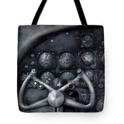 Air - The Cockpit Tote Bag by Mike Savad