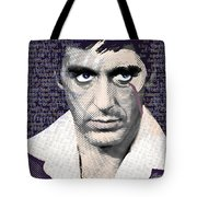 Al Pacino Again Tote Bag by Tony Rubino
