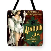 Aladdin Jr Amazon Tote Bag by Terry Reynoldson