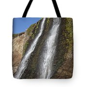 Alamere Falls Pacific Coast Tote Bag by Garry Gay