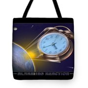 Alarming Reaction Tote Bag by Mike McGlothlen