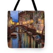 alba a Venezia  Tote Bag by Guido Borelli