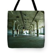 Alcatraz 5 Tote Bag by Micah May