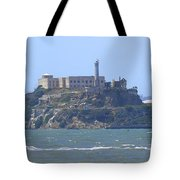 Alcatraz Island Tote Bag by Mike McGlothlen