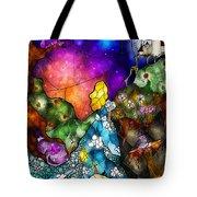 Alice's Wonderland Tote Bag by Mandie Manzano