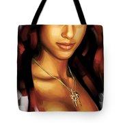 Alicia Keys Artwork 1 Tote Bag by Sheraz A