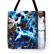 Alien Pirates Tote Bag by Murphy Elliott