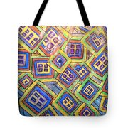 All Six's And Three's Tote Bag by Sherry Harradence