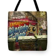 Alley Graffiti Tote Bag by Stuart Litoff