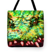Alligator 20130702 Tote Bag by Wingsdomain Art and Photography