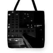 Alone Together Tote Bag by Trever Miller