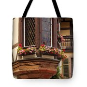 Alsace Window Tote Bag by Brian Jannsen