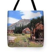 Alta In Colorado Tote Bag by Guido Borelli