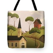 Amber Hills Tote Bag by Catherine Holman