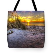 Ambience Of The Gulf Tote Bag by Marvin Spates